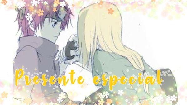 Fanfic / Fanfiction Presente especial (Sasodei one shot)