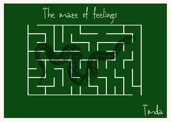 Fanfic / Fanfiction The Maze of Feelings