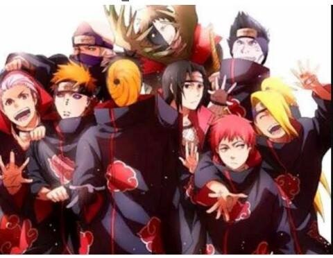 Fanfic / Fanfiction Naruto na akatsuki