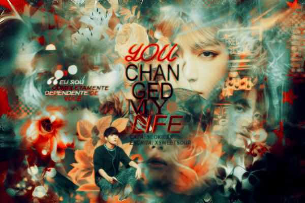 Fanfic / Fanfiction You Changed My Life. - one shot. (Taekook - Vkook)
