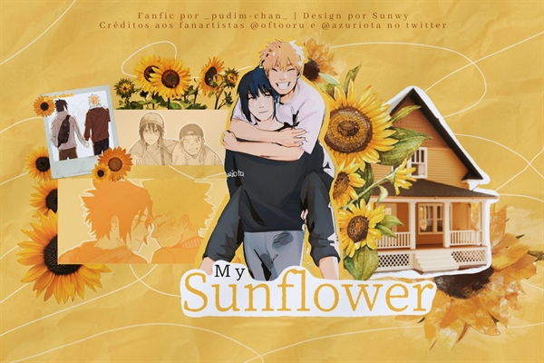 Fanfic / Fanfiction My Sunflower - Narusasu