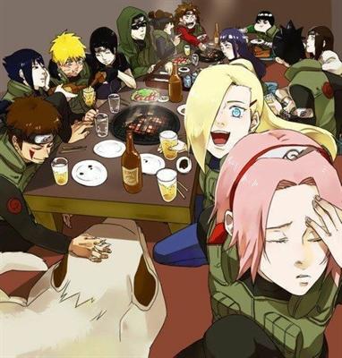 Fanfic / Fanfiction Naruto Reagindo