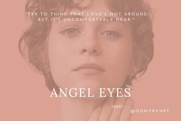 Fanfic / Fanfiction Angel Eyes (Syatt)
