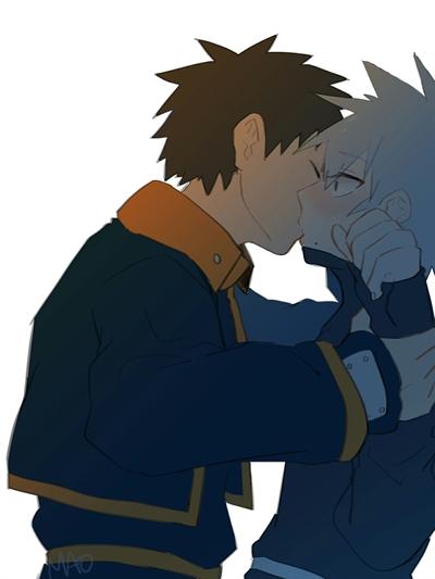 Fanfic / Fanfiction Eu nunca gostaria dele!(obikaka)(sasunaru)
