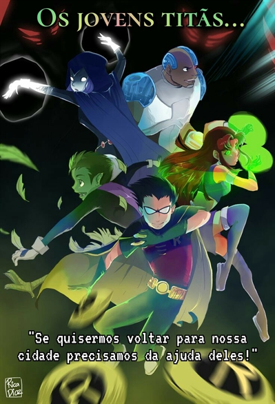 Fanfic / Fanfiction Os jovens titãs - Universo