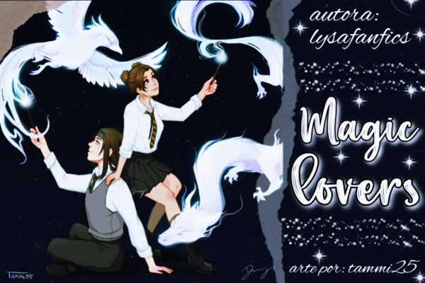 Fanfic / Fanfiction Magic Lovers - Nejiten