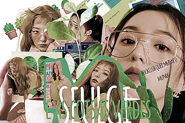 Fanfic / Fanfiction Seulgi e As Coisas Verdes - Seulrene