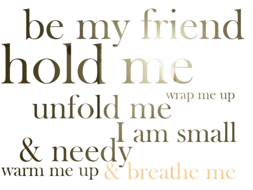 Fanfic / Fanfiction Breathe Me - Capítulo 12 - Sou seu amigo