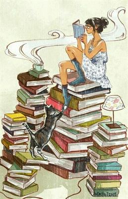 Fanfic / Fanfiction A garota e os livros... - Capítulo 3 - Capítulo lll ~ A biblioteca particular