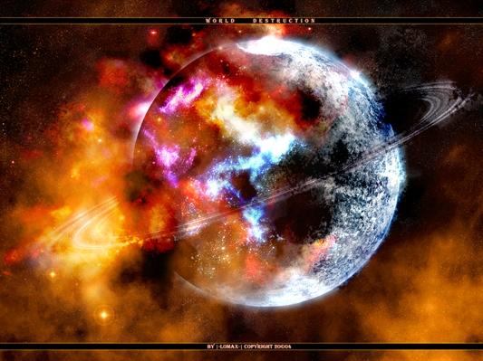 Fanfic / Fanfiction A Nova Vida Dos Humanos. - Capítulo 1 - A Destruição