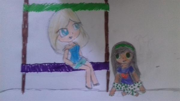 Fanfic / Fanfiction A vida normal de uma garota - Capítulo 2 - Uma Festa do pijama anormal.
