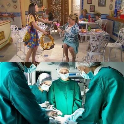 Fanfic / Fanfiction Fanfic->Teobela - Capítulo 92 - De volta a sala de cirugia