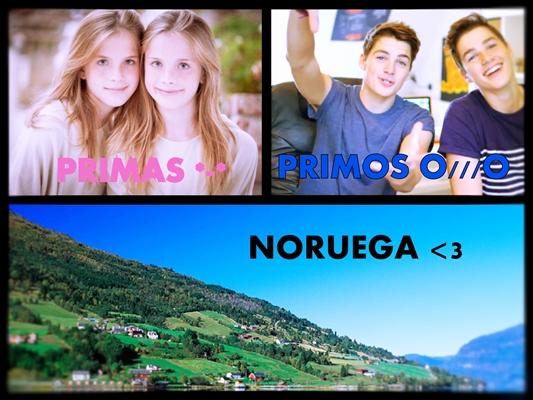 Fanfic / Fanfiction Girls (Imagine Marcus e Martinus) - Capítulo 2 - Primos, primas , Noruega e aranha