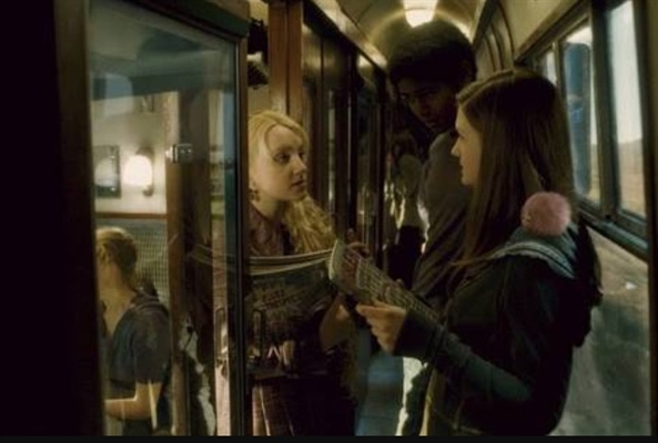 Fanfic / Fanfiction Hogwarts(INTERATIVA) - Capítulo 8 - No Trem