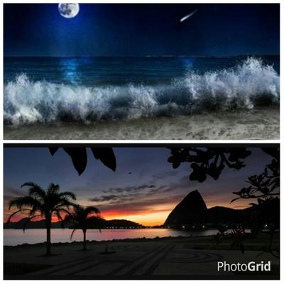 Fanfic / Fanfiction °Imagine BTS ~ Sobrenatural° - Capítulo 17 - Noite divertida 🌚🍃 na praia *-*