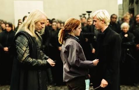Fanfic / Fanfiction Meu primeiro beijo - Capítulo 11 - O tropeço de Hermione