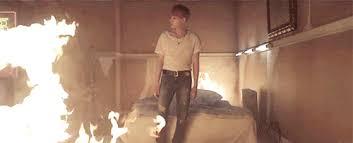 Fanfic / Fanfiction O anjo da morte - Capítulo 4 - Yoongi queimado...