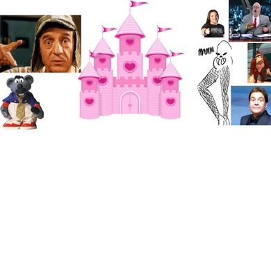 Fanfic / Fanfiction O chão do faustão - Capítulo 14 - Chamos ao castelo DU MAL(e o chaves tava lá)