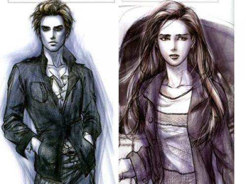 Fanfic / Fanfiction Os Cullen's lendo Crespusculo - Capítulo 4 - Primeira vista Prov. Edward Cullen