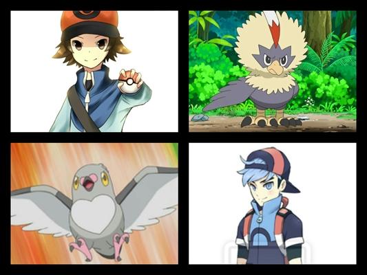Fanfic / Fanfiction Pokémon black and white - Capítulo 7 - Josh um novo rival!!