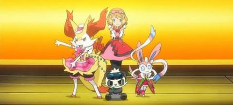 Fanfic / Fanfiction Pokémon:Jornada em confusão com as gêmeas - Capítulo 13 - Olá Liga Kalos e bem-vinda a Classe Mestra.