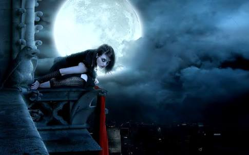 Fanfic / Fanfiction Os Caminhos da Névoa - Capítulo 5 - Cidade Fantasma: A Garota que veste trevas