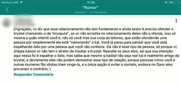 """Fanfic / Fanfiction """"Rumor"""" - Capítulo 6 - Comentário?!"""