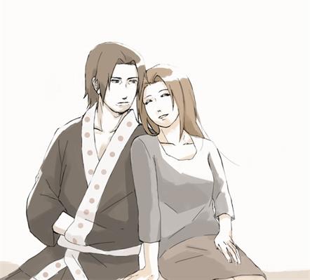 Fanfic / Fanfiction Sasuke Uchiha - Amizade e Amor. - Capítulo 10 - Fugaku e Mikoto Uchiha