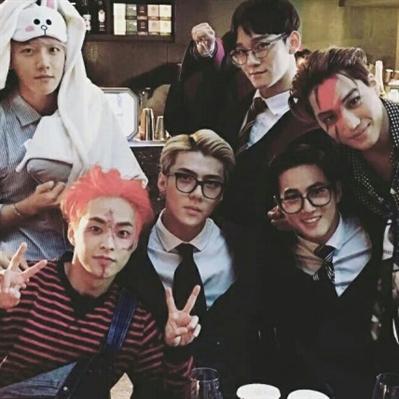 Fanfic / Fanfiction The game begins-EXO e BTS - Capítulo 2 - O que aconteceu?Um dia antes do halloween