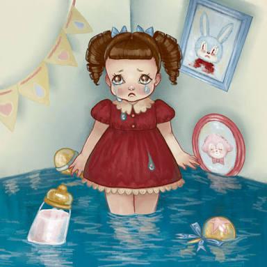 """Fanfic / Fanfiction Uma """"Bela"""" História de Uma Pequena Garota - Capítulo 1 - A Bebê Chorona"""