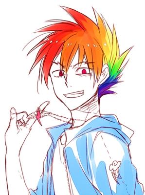 Fanfic / Fanfiction Vida de otaku - Capítulo 5 - Um arco-íris?