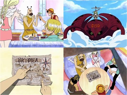 Fanfic / Fanfiction Wolf D. Hikari (One Piece) - Capítulo 86 - Todos para o sacrifício?! O começo do julgamento celestial!!