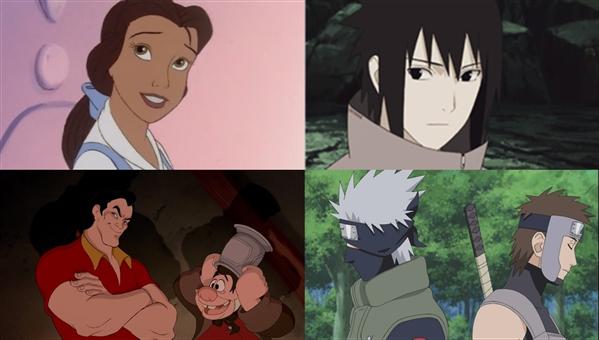 Fanfic / Fanfiction A Bela e a Fera - Versão Naruto Yaoi - Capítulo 2 - O Garoto Esquisito