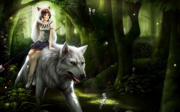 Fanfic / Fanfiction A Garota-Lobo. - Capítulo 1 - Lembranças.