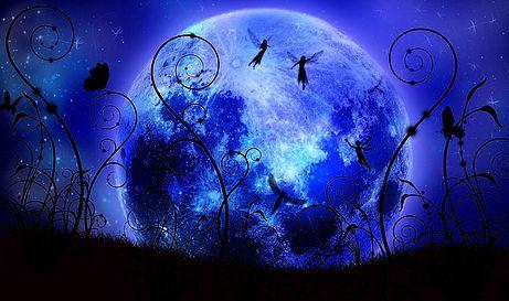 Fanfic / Fanfiction A menina da lua azul - Capítulo 1 - O nascimento