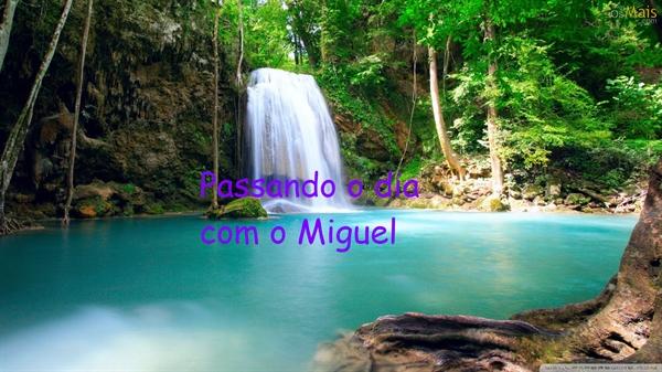 Fanfic / Fanfiction Amigo imaginário - Capítulo 11 - Passando o dia com o Miguel