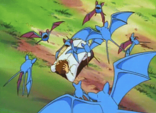 Fanfic / Fanfiction Ash: A jornada de um mestre Pokémon - Capítulo 6 - A Praga dos Zubats