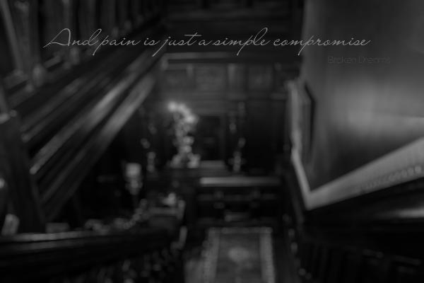 Fanfic / Fanfiction Broken Dreams - Capítulo 47 - Dê-me anestesia.