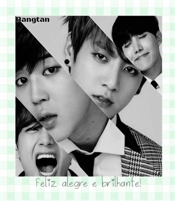 Fanfic / Fanfiction Cinderela e os sete cavalheiros (Imagine BTS) - Capítulo 7 - (Arco1 - conhecendo os meninos) Feliz, alegre e brilhante!