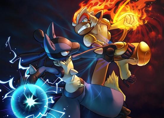 Fanfic / Fanfiction Escola De Treinamento Pokémon - Capítulo 6 - Lutador vs Lutador
