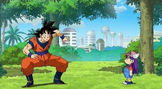 Fanfic / Fanfiction Masiorite - Capítulo 1 - Goku , o início de tudo