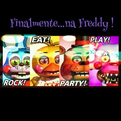 Fanfic / Fanfiction Meu Passado Na Freddy Good Ending - Capítulo 6 - Finalmente...na Freddy !