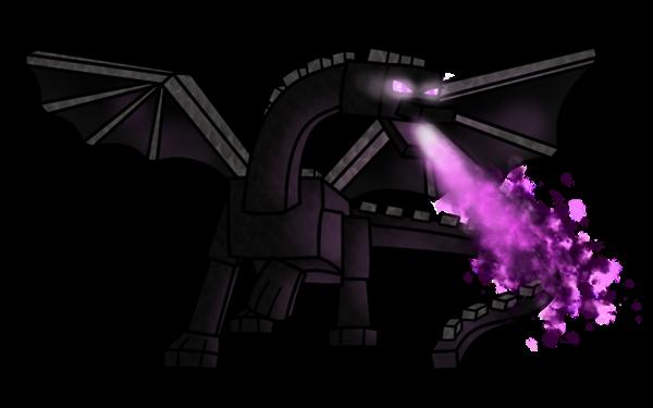 Fanfic / Fanfiction Minecraft- Apocalipse de Mobs - Capítulo 2 - O Ender Dragon