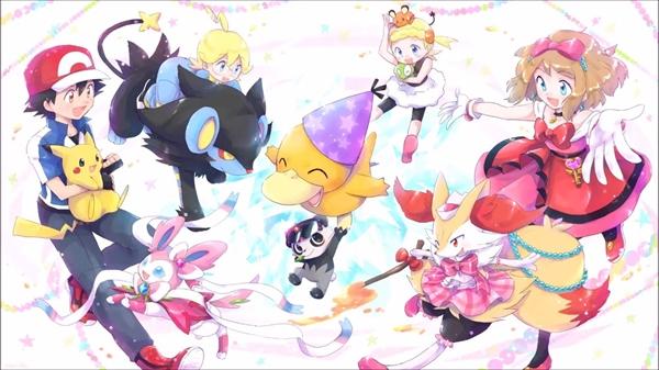 Fanfic / Fanfiction Pokémon Mirror - Aventuras de Outro Mundo! - Capítulo 1 - Kalos
