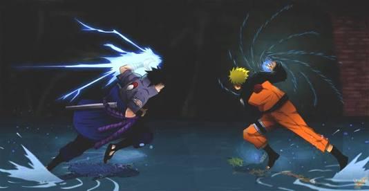 Fanfic / Fanfiction NaruHina Enfim ( Hiatus) - Capítulo 15 - Naruto vs Sasuke