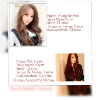 Fanfic / Fanfiction New Bangtan Girls (Interativa) - Capítulo 6 - Young Eun Hee -- HeeYou -- Líder and Dance Guide,