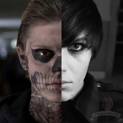 Fanfic / Fanfiction O Canto Escuro da Morte - Capítulo 12 - Conhecendo o Tate e...Mandy?!