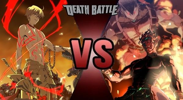 Fanfic / Fanfiction O torneio dos guerreiros lendarios - Capítulo 24 - Dio brando vs gilgamesh ! os deuses supremos