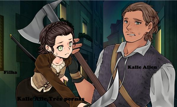 Fanfic / Fanfiction Os Filhos de Jeff e Jane! - Capítulo 16 - Kalle Allen,Nasceu com três pernas