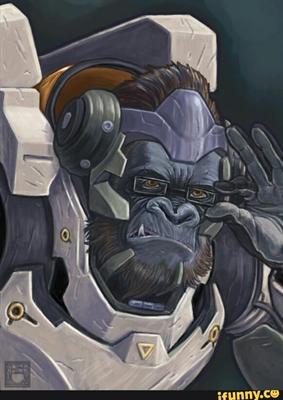 Fanfic / Fanfiction Overwatch os heróis do amanhã - Capítulo 2 - Macaco?Não eu sou o mais novo líder da Overwatch!